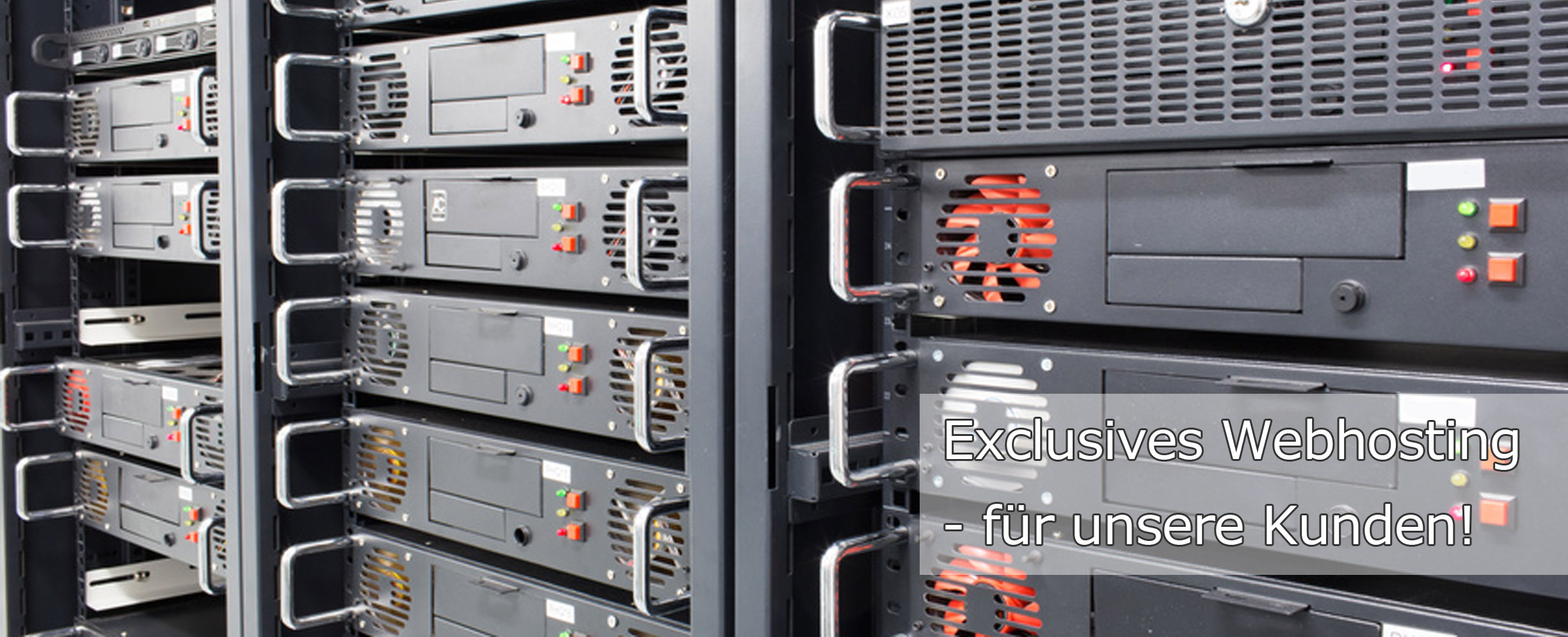 Exclusives Webhosting für Kunden