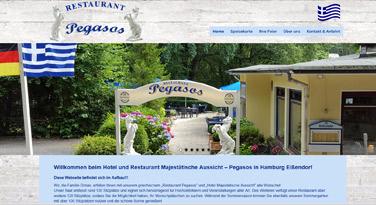 Webdesign Hotel Restaurant Majestätische Aussicht